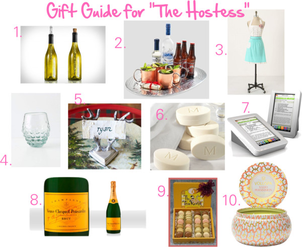 Hostess Gift Guide