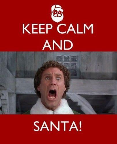 Keep Calm and....Santa!