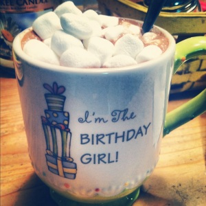 Lots and Lots of Hot Chocolate (ok fine, it's mostly marshmallows)
