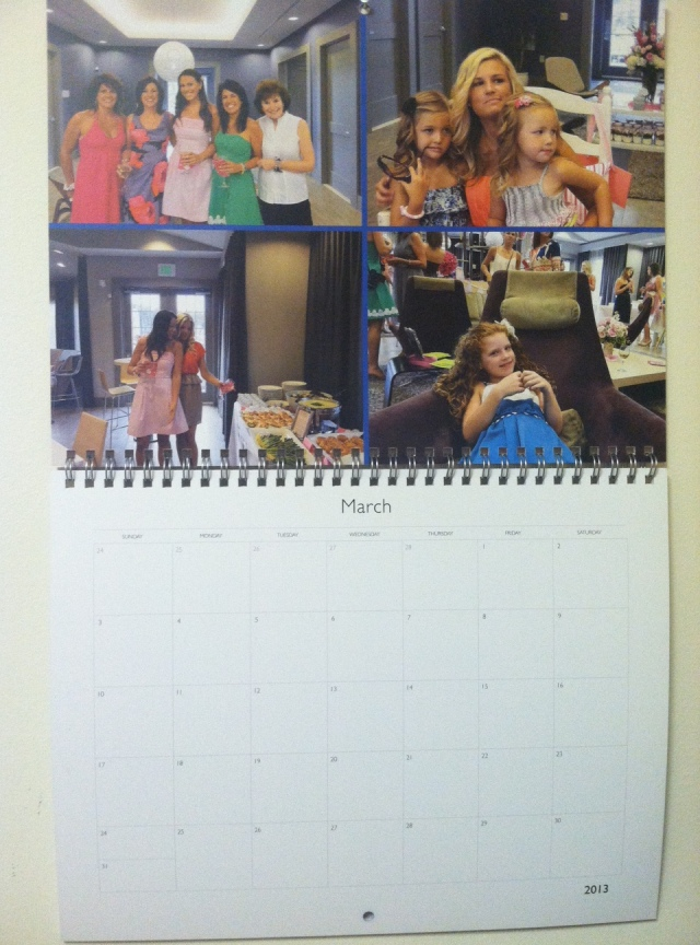 Switching our calendar over to March