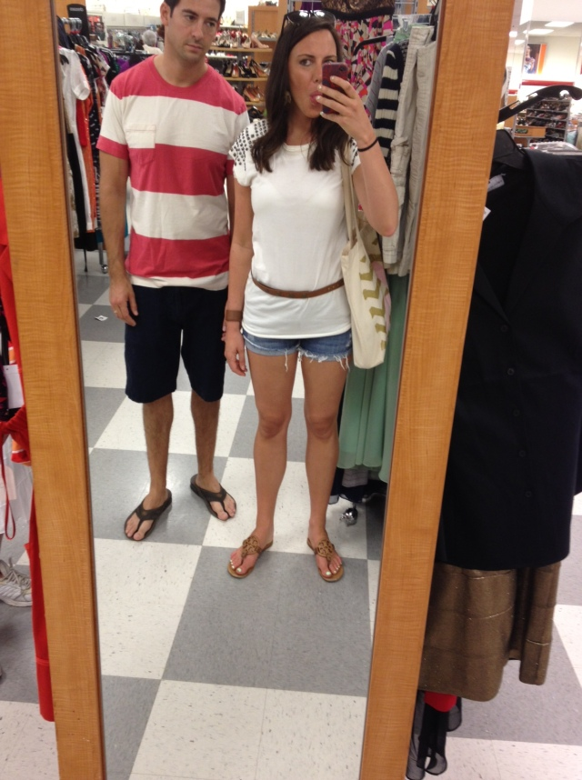 Adam loves shopping!