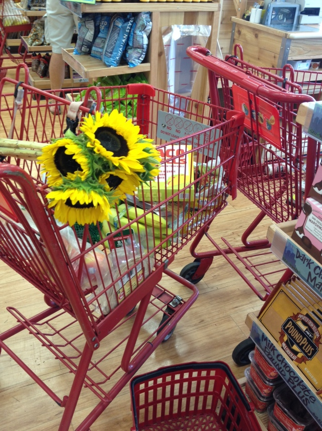 Trader Joe's Sunflowers $3