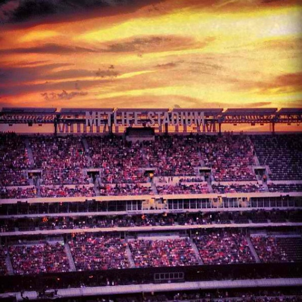Sunset at Metlife