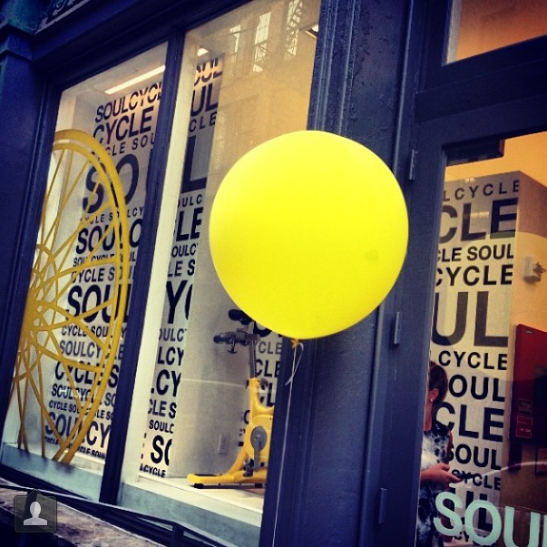 Early Morning SoulCycle. My first Survivor class!
