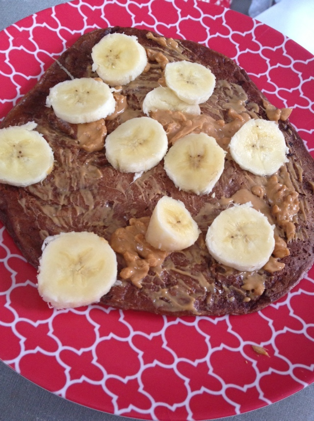 Sunday Morning Protein Pancake